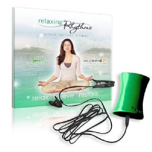 Relaxing Rhythms inc Iom PE Biofeedback System - HRV for Meditation, Stress Management & Relaxation